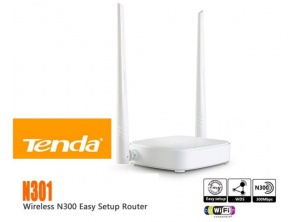 Phát WIRELESS Tenda N301--300Mbp 2 anten
