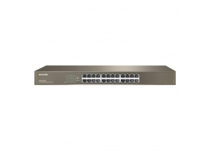 Switch Tenda TEG1024D 24 port Gigabit (1.0Gbps) - 13'