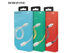 Cable Sạc Borofone BU2 Iphone