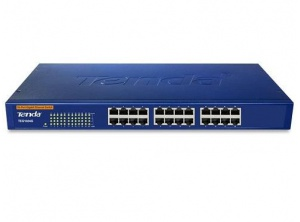 Switch Tenda TEG1024G 24 port Gigabit (1.0Gbps) - 19''