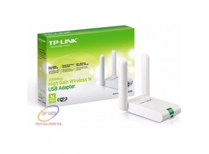 Thu Wireless TP-LINK USB WN822N  - 300Mbps 2 anten