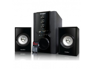 Loa 2.1 SoundMax A960 (USB, Thẻ nhớ, Bluetooth, Remote)