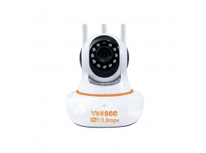 Camera IP Robo Yoosee 2 Anten HD 3.0Mpx