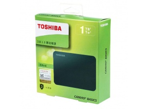 Box HDD TOSHIBA CANVIO BASICS 1TB 2.5'' USB 3.0