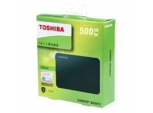 Box HDD TOSHIBA CANVIO BASICS 500GB 2.5'' USB 3.0