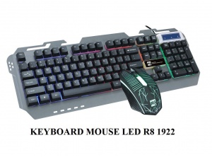 COMBO – KB + Mouse R8 KM - 1922 LED (USB+USB)