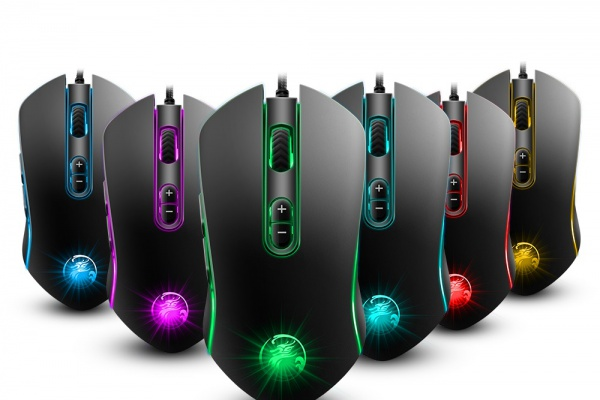 Mouse GAME  APEDRA  A6  LED - USB